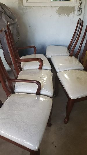 6 Chairs For Dining Table for Sale in Bakersfield, CA