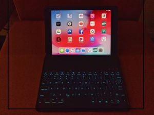 "iPad Pro 9.7""Retina display with backlit keyboard armor. for Sale in Miami, FL"