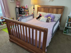 5-in-1 Convertible Crib and Dresser with Changer for Sale in Ashburn, VA