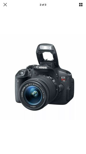 Canon T5i 18mp digital SLR with two IS lenses for Sale in Columbus, OH