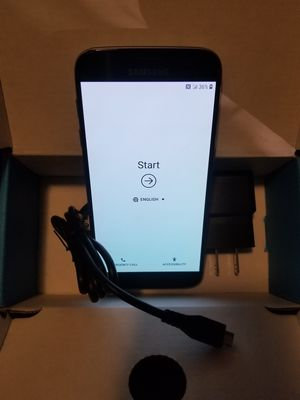 Samsung Galaxy S7 Black Unlocked 4G LTE Android Smartphone Excellent Condition Excellent Condition UNLOCKED Verizon for Sale in Hales Corners, WI