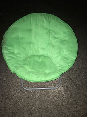 Green saucer chair for Sale in Fairless Hills, PA