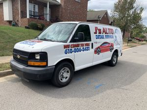 Chevy express 2008 clean title runs and drives great with 200k mileage i'm selling only the van it's a great work van for Sale in Nashville, TN