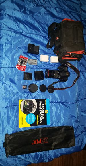 Canon Rebel T7 for Sale in Goodyear, AZ