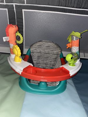 Infantino 3-in-1 booster seat   Baby Activity Seat   Booster Seat for Dining Table   Removable Tray for Sale in Norwalk, CA