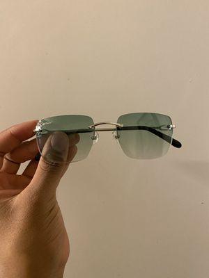 Green Cartier Bolon Frame Glasses for Sale in Washington, DC
