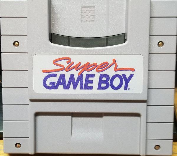 Super Game Boy Nintendo SNES