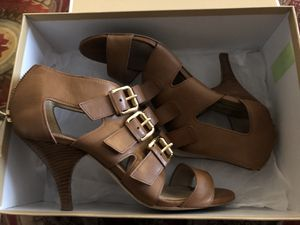 Michael Kors leather heels for Sale in Spring, TX