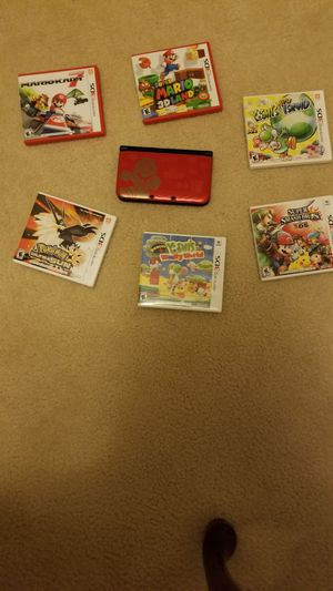 Nintendo 3ds with 10 games for Sale in Hayward, CA