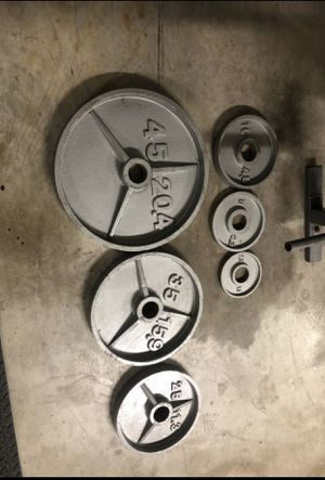 Olympic weights for Sale in Forney, TX