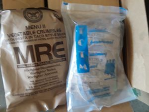 MRE / camping food/ Travelers food/ Backpackers for Sale in Lancaster, CA