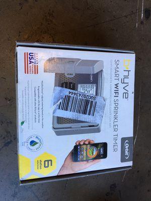 Orbit B-hyve 6-Zone Indoor/Outdoor Smart Sprinkler Controller, Works with Amazon Alexa for Sale in Garden Grove, CA