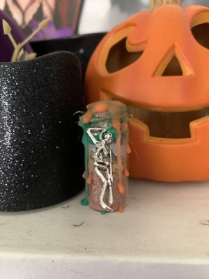 Happiness Spell Bottle with Skeleton Charm for Sale in El Monte, CA