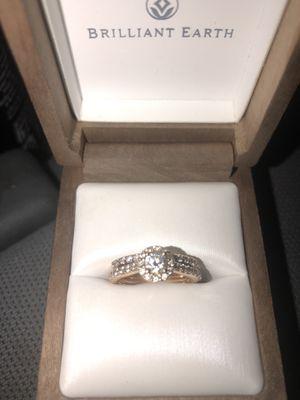 Brilliant earth ring set for Sale in Oceanside, CA