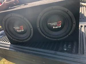 Carwin Vega HED 2 10's and AMP best offer for Sale in Bradenton, FL