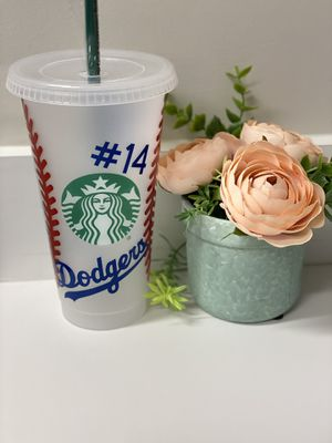 Starbucks cold cup personalized for Sale in Los Angeles, CA