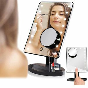 22 LED Light Portable Ajustable Vanity Lighted Makeup Mirror 10X Magnification (22ledmirror-USA) for Sale in Riverside, CA