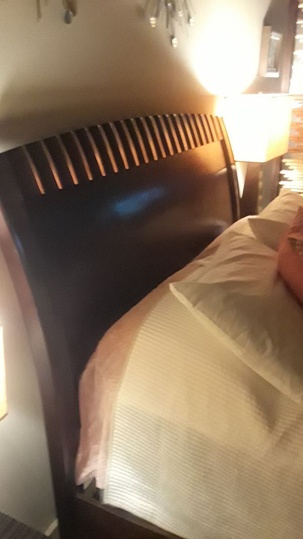 Wood Queen Bed Frame
