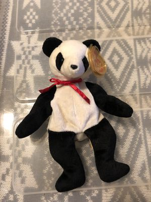 "TY Beanie Babies ""Fortune"" the Panda for Sale in Columbus, OH"