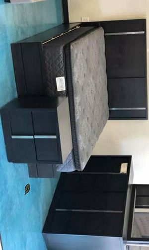 🆕️ Best OFFER 🍻🍾 Evenson Brownish Gray Platform Bedroom Set [FREE CHEST] 1229 for Sale in Columbia, MD