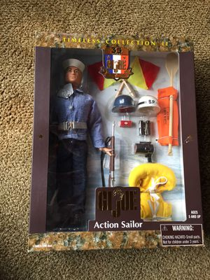 """1999, GI Joe timeless collection , 12"""" Action Sailor for Sale in Burbank, CA"""