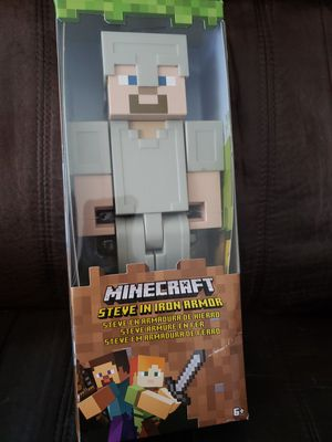 Minecraft Steve In Iron Armor Brand New for Sale in Lemon Grove, CA