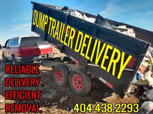 Dump trailer delivery for Sale in Peachtree Corners, GA