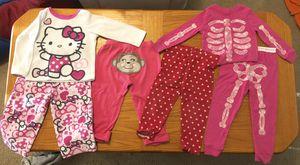Girls Toddler pajamas 24m & 2T for Sale in Austin, TX