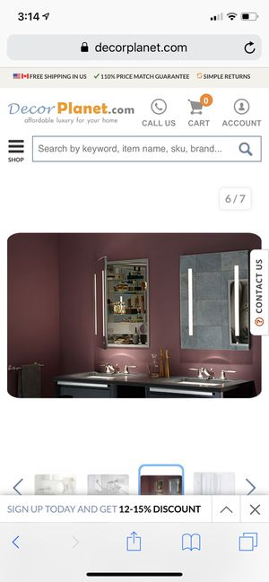 Robern Medicine Cabinet Mirror for Sale in Norwalk, CA