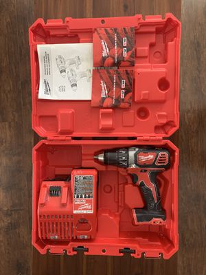 Milwaukee M18 drill with charger and carrying case for Sale in Oakland, CA