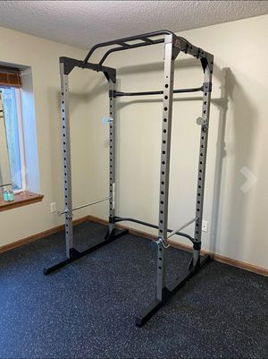 Home Gym Essentials - Super Max Power Squat Cage Rack, bench sold separately for Sale in El Monte, CA