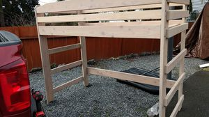 Lifted bunk bed for Sale in Burien, WA
