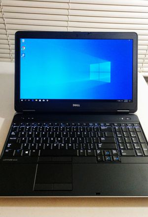 Mint Condition 15inch Dell Latitude Premium laptop w/Warranty: Intel i7/8GB Memory/Windows 10 Pro/spill-resistant backlit keyboard/ for Sale in Norfolk, VA