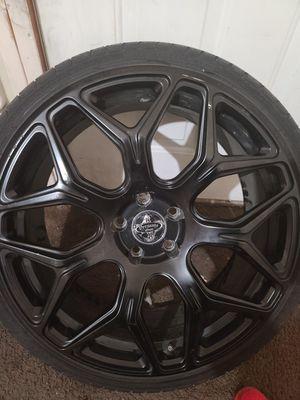 20 inch Versante alloy matt black rims for Sale in Sheridan, CA