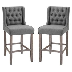 "40"" Bar Stool Set of 2 - Grey for Sale in Los Angeles, CA"