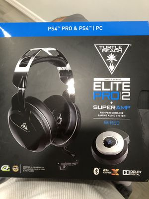 Elite Pro 2 Turtle Beach Headset with SuperAmp PS4 for Sale in Lynwood, CA
