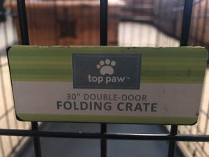 "Top Paw 30"" dog crate for Sale in Bellevue, TN"