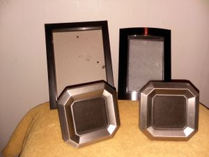 Black and Chrome Color Picture Frames for Sale in Grosse Pointe, MI