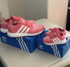 Adidas shoes , matching shoes mom and daughter for Sale in Corona, CA