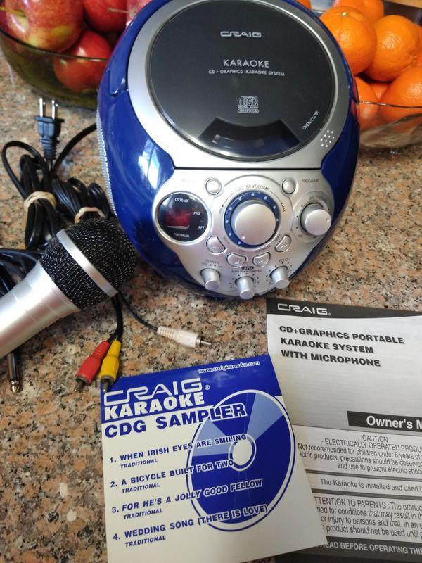 Craig karaoke system for Sale in Bakersfield, CA - OfferUp