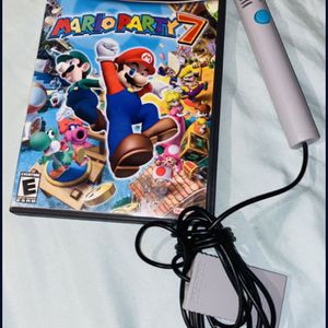 Mario Party 7 With Microphone 🎤 For GAMECUBE for Sale in National City, CA