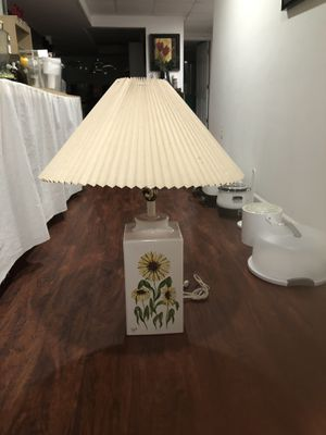 Lamp with shade for Sale in West Bloomfield Township, MI