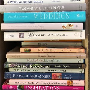 Wedding Style/Floral Design Books for Sale in Rancho Cucamonga, CA