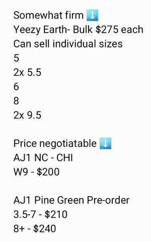 Yeezys. AJ1s for Sale in Philadelphia, PA