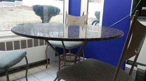 Granite Breakfast Table Set for Sale in Wakefield, MA