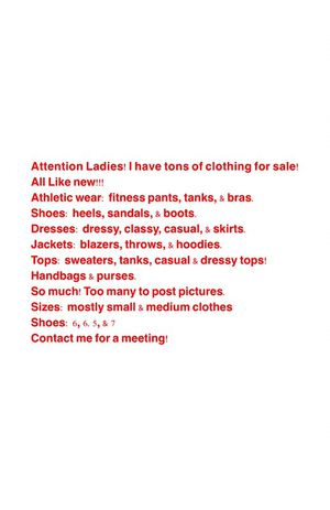 Variety of women's clothes, shoes, bags for Sale in Sewickley, PA