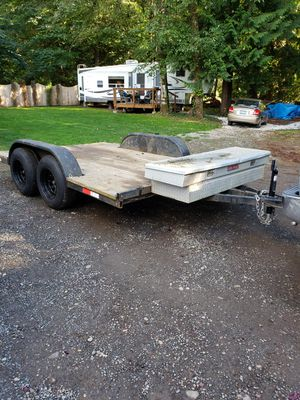 14'x8' flatbed trailer for Sale in Brush Prairie, WA