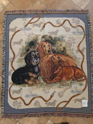 Dachshund Tapestry Throw for Sale in Norco, CA
