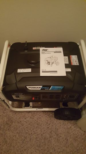 Pulsar Pro generator brand-spanking-new just out of the box I still have the box for Sale in Houston, TX