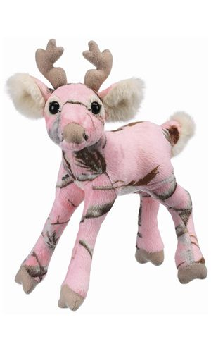 Pink camo deer plush for Sale in Fort Lauderdale, FL
